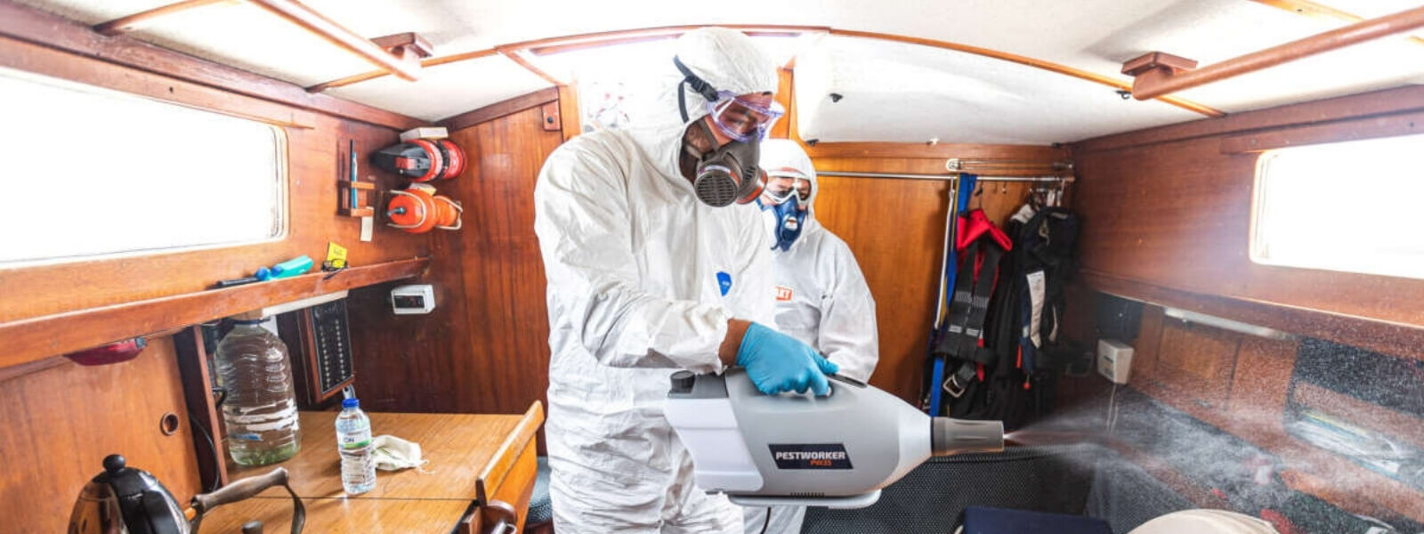 Gulets, daily cleaning and disinfections after Covid-19 pandemic