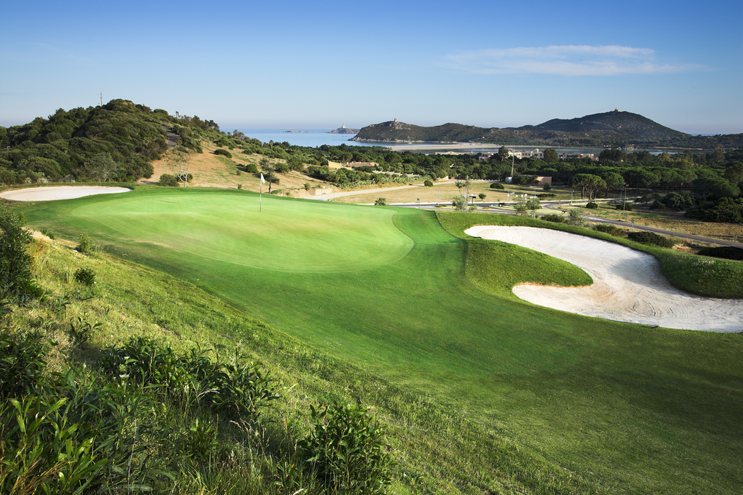Breath-Taking Golf Courses by the Sea in South Sardinia