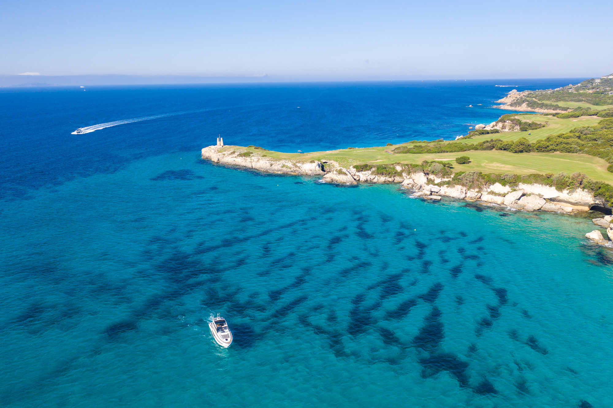Breath-taking Golf Courses by the Sea in North Sardinia and Corse